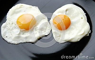 Eggs face