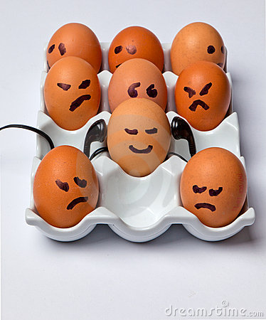 Eggs With Faces. EGGS WITH FACES