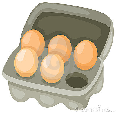 Free Eggs In Carton Stock Images - 13583154