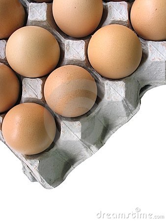 Free Eggs In Tray Royalty Free Stock Images - 668919