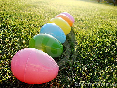 Eggs on the Lawn