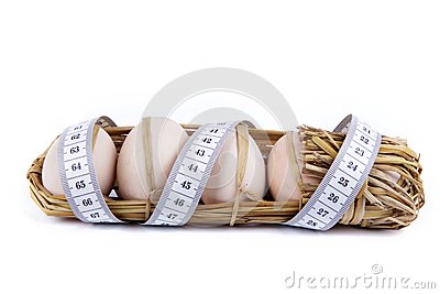 Eggs with meter