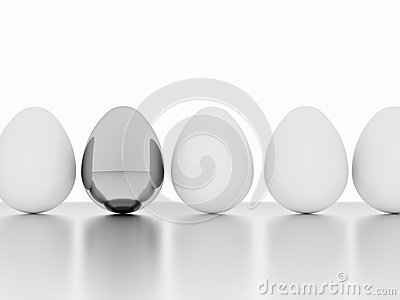 Eggs one silver
