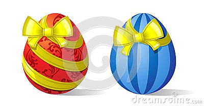 Eggs-and-ribbons