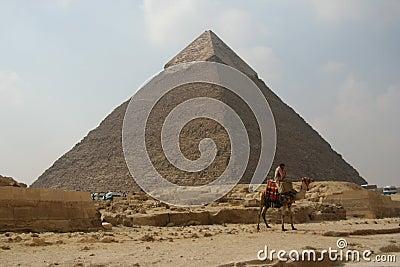 Egypt Camel Rider Editorial Image