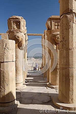 Free Egypt - Deir Al Bahari Royalty Free Stock Image - 8629256