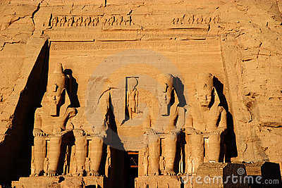 Egypt för abuafrica koloss simbel