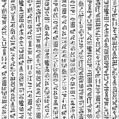 Egypt hieroglyphs