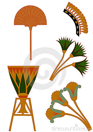 Free Egypt Ornament Royalty Free Stock Images - 10079539