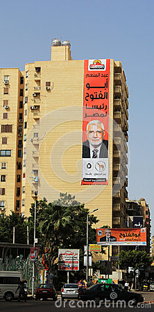Egypt s presidential elections Editorial Stock Photo