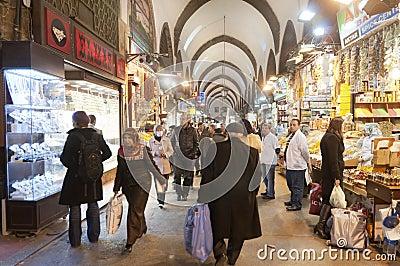 Egypt (Spice) Bazaar, Istanbul, Turkey Editorial Photography