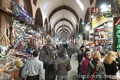 Egypt (Spice) Bazaar, Istanbul, Turkey Editorial Stock Image
