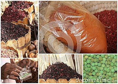 Egypt spice market