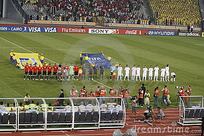 Egypt vs Paraguay - FIFA-U20 Worldcup Editorial Image