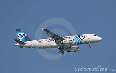 Egyptair Airbus A320-200 Editorial Image