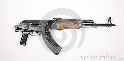 Egyptian AK47 automatic rifle
