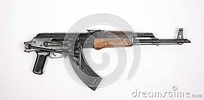 Egyptian AK47 automatic rifle KALASHNIKOV