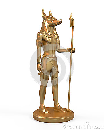 Egyptian Anubis Statue