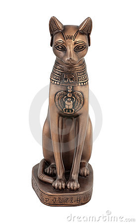Egyptian cat Bastet figurine