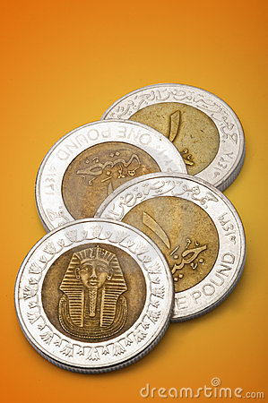 Egyptian Coins (One Pound)