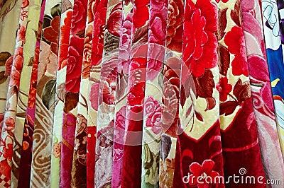 Egyptian cotton blanket
