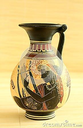 Free Egyptian Decorative Vase Royalty Free Stock Photos - 9085418