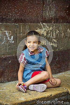 Egyptian girl Editorial Image