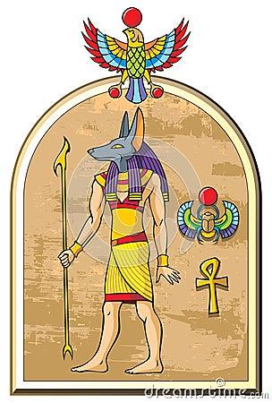Free Egyptian God Anubis Royalty Free Stock Photography - 17331297