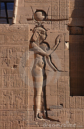 Egyptian Goddess Isis Stock Photos - Image: 473053