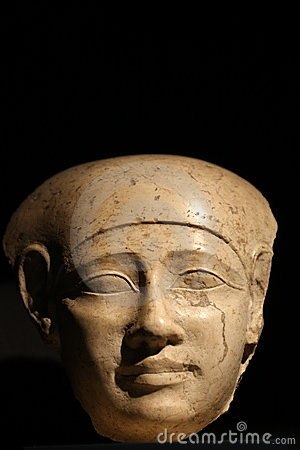 Egyptian head of 400 BC
