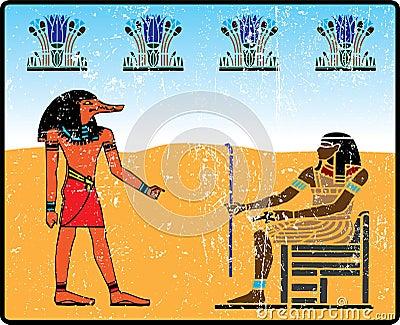 Egyptian hieroglyphics - 14