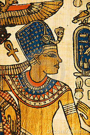 Free Egyptian History Papyrus Royalty Free Stock Images - 9829889