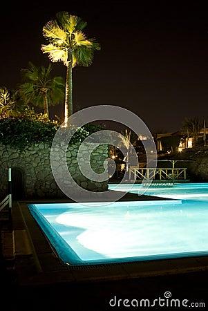 Egyptian Hotel Poolside