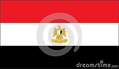 Egyptian national flag