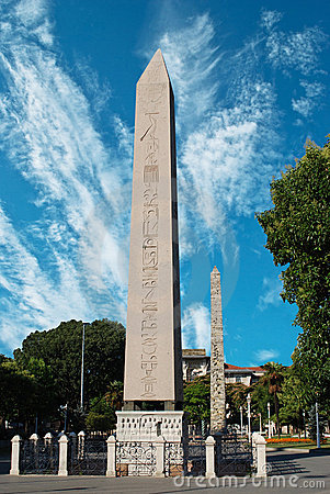 Free Egyptian Obelisk At Ancient Hippodrome In Istanbul Royalty Free Stock Photography - 21182747