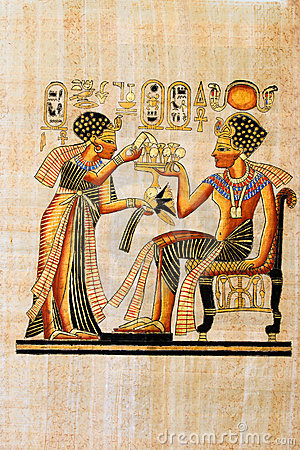 Free Egyptian Papyrus Royalty Free Stock Images - 3738519
