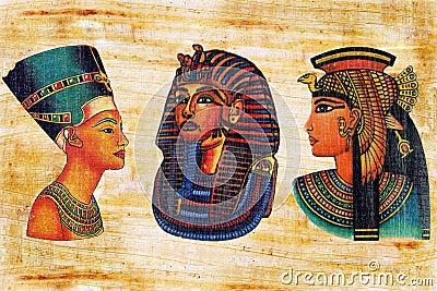 Egyptian papyrus.