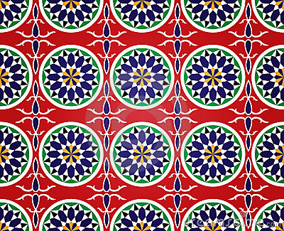 Egyptian Ramadan Seamless Pattern