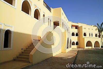 Egyptian resort architecture