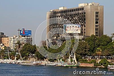 Egyptian Revolution - January 25 2012 Editorial Stock Photo