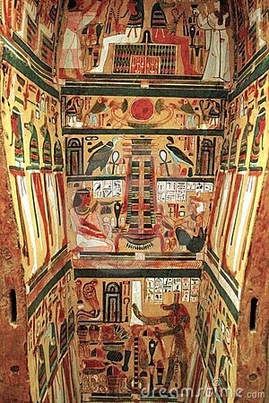 Egyptian Sarcophagus Royalty Free Stock Images Image
