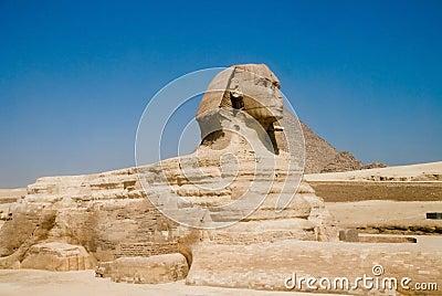 Egyptian sfinx at Gizet
