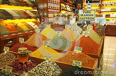 Egyptian spice market. Istanbul