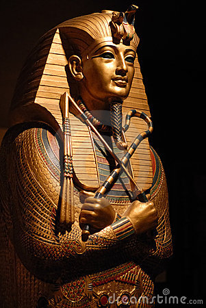Free Egyptian Statue Stock Photography - 3748392