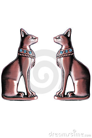 Egyptian statuettes of Bastet