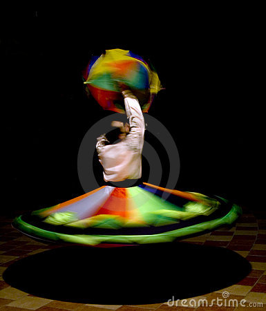 Egyptian Tanoura Dancer