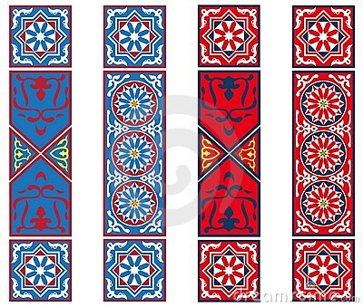 Egyptian Tent Fabric Banners