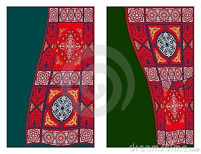 Egyptian Tent Fabric-Curtain Style 2