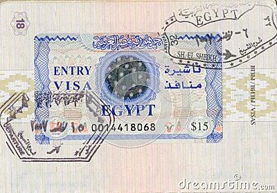 Egyptian visa
