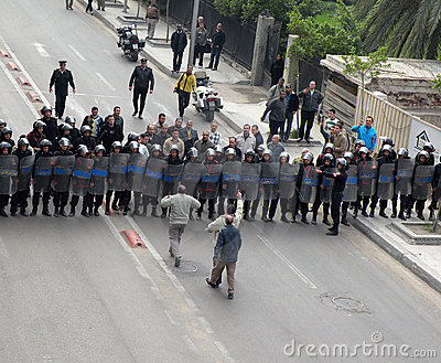 Egypts protests Editorial Image